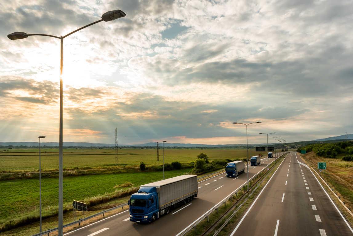 El servicio de transporte de mercancías por carretera